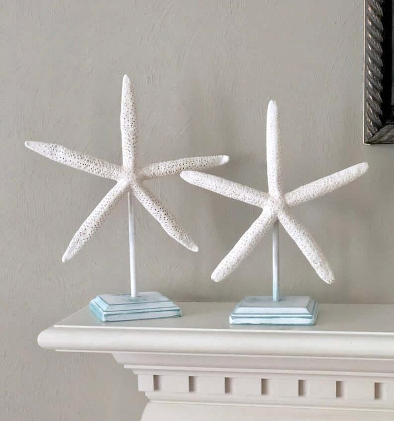 Set of Starfish Beach Home Decorations