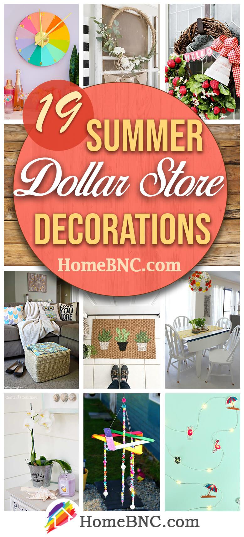 Best Dollar Store Summer Decoration Ideas