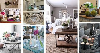 Coffee Table Decorating Designs