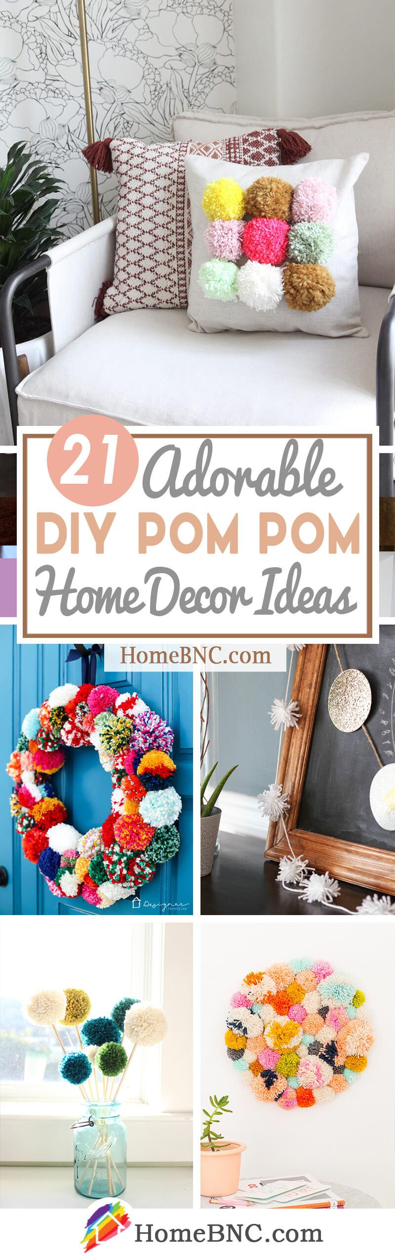 Best DIY Pom Pom Decoration Ideas