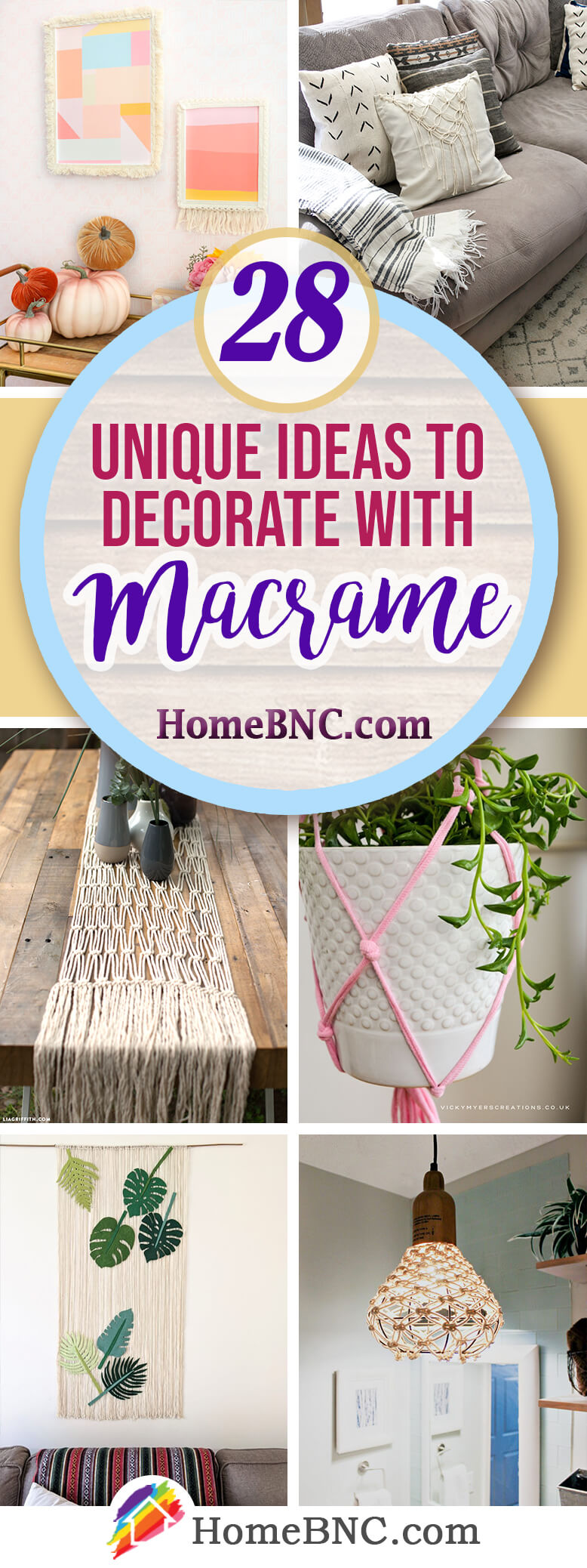 Best Macrame Home Decor Ideas