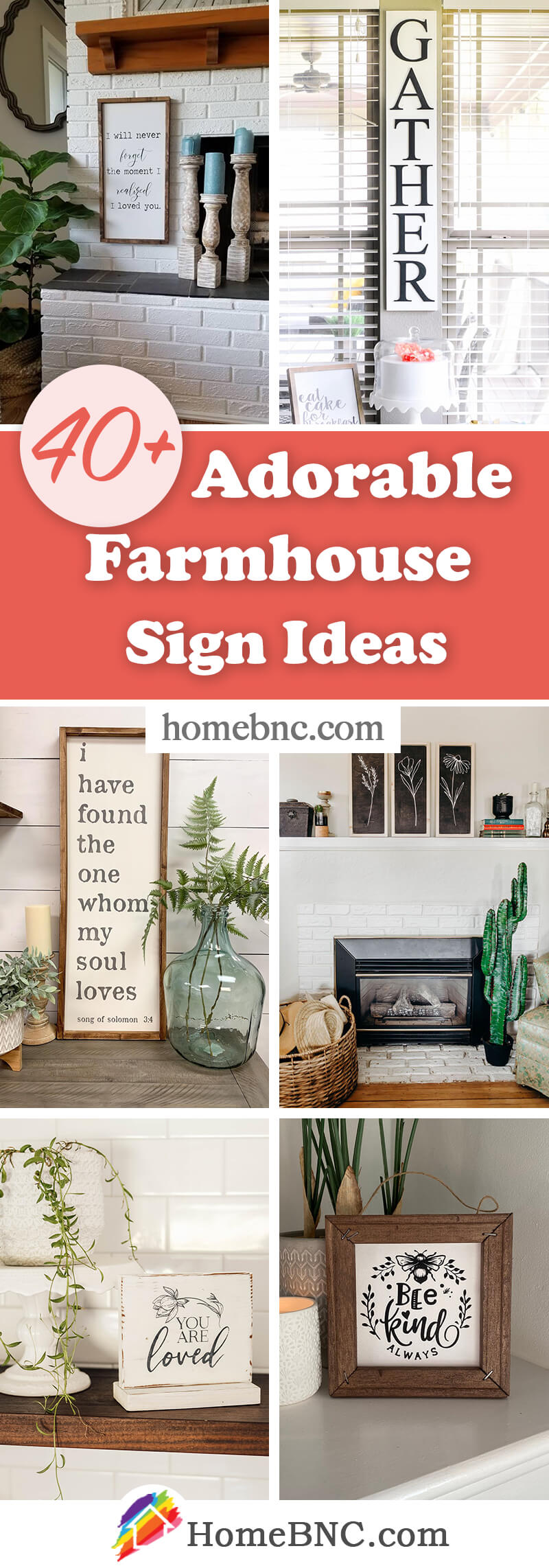 Best Modern Farmhouse Signs