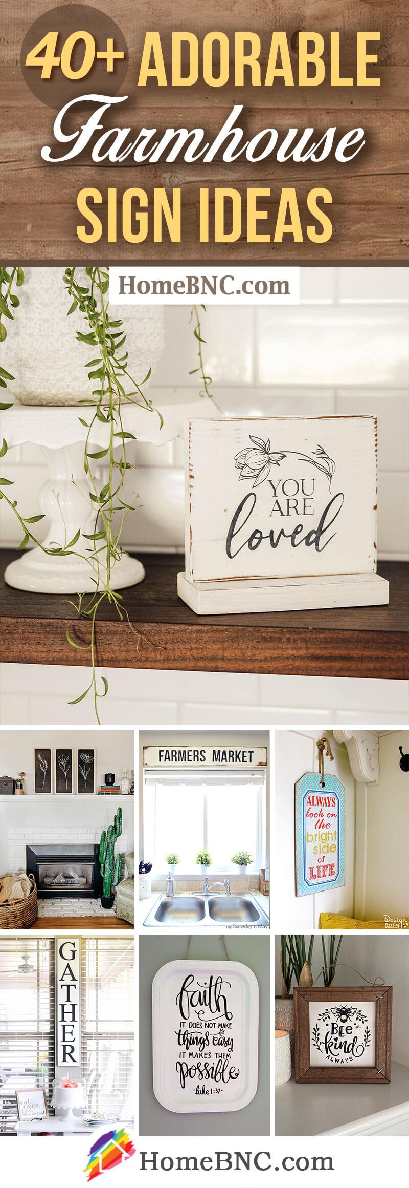 Best Modern Farmhouse Sign Ideas
