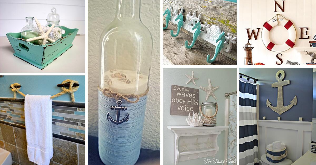 45 Best Nautical Bathroom Ideas And, Sailor Themed Bathroom Accessories