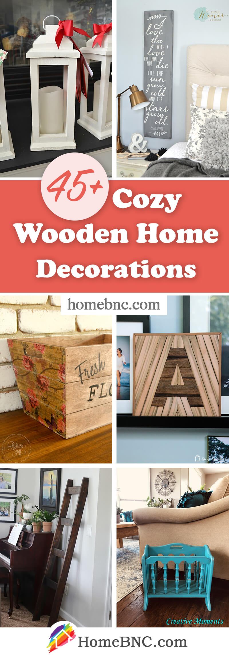 Wood Home Decor Ideas