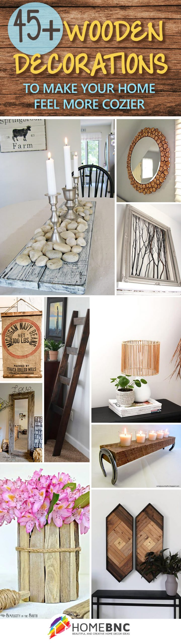 Wood Home Decorations