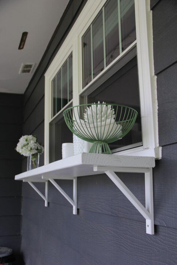 Outdoor Window Ledge Shelf Unit