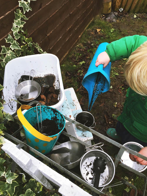 Outdoor Kitchen Set for Kids