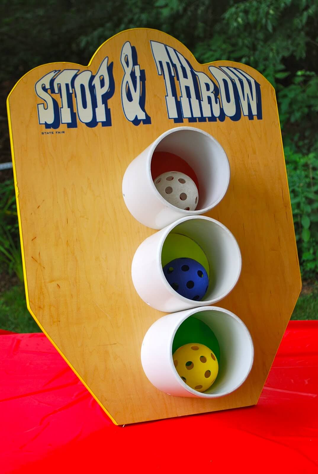 Stop and Throw Skee Ball Carnival Game