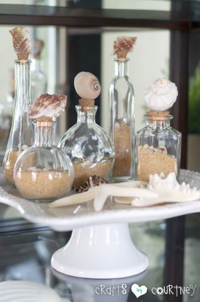 Gorgeous Ocean Beauties Shell Cork Stoppers