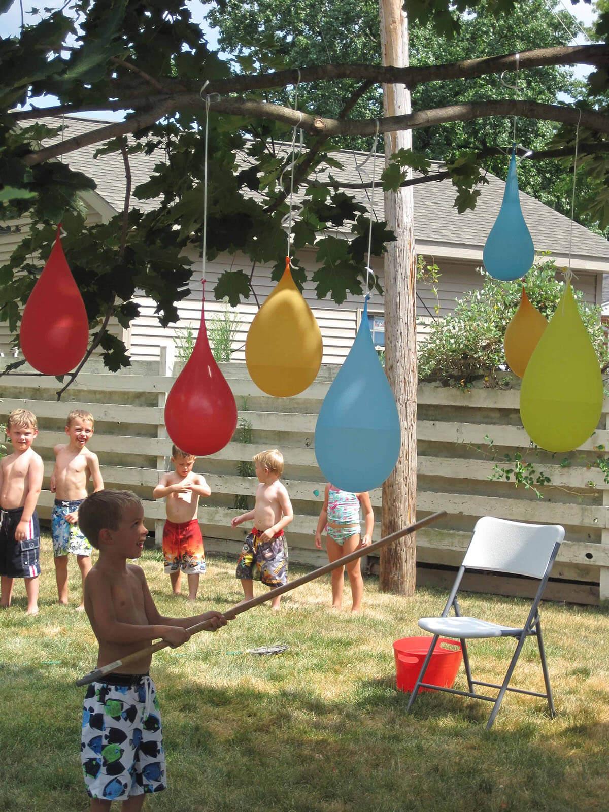 Colorful Water Balloon Piñata Collection