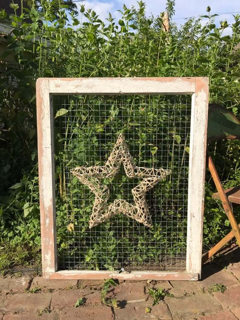 Star of the Show Wire Framed Art