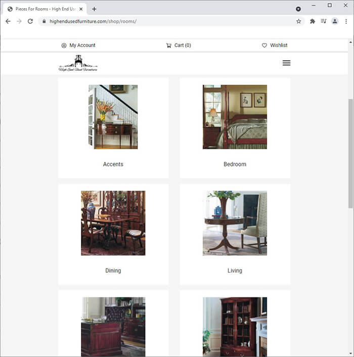 High-End Used Furniture