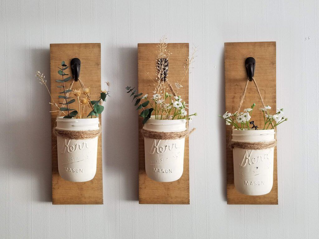 Mason Jar Wall Sconce DIY Kit