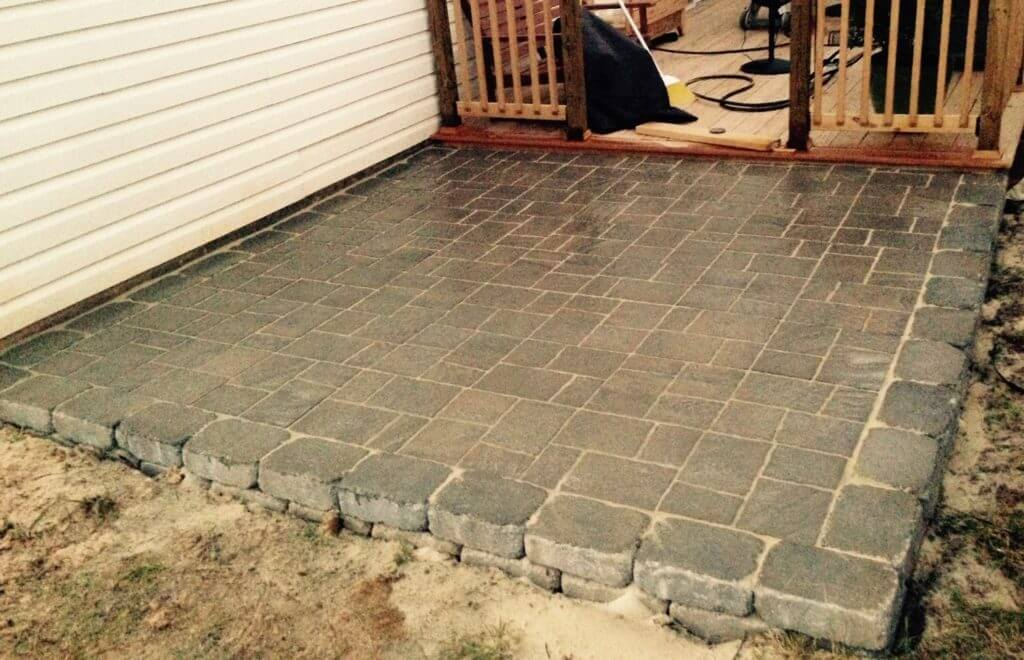 A Stunning Patio Paver Area You Can Do Yourself