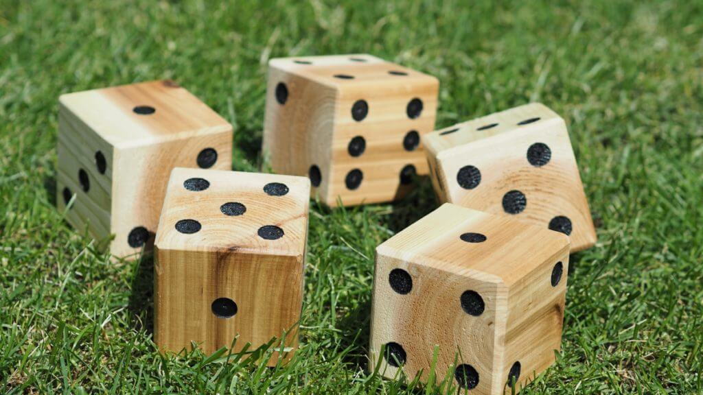 Massive Backyard Dice Yahtzee Game