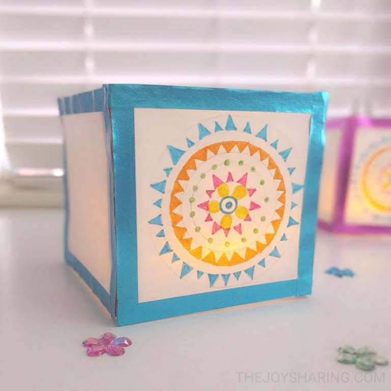 Color Outside the Box Light Up Summer Craft