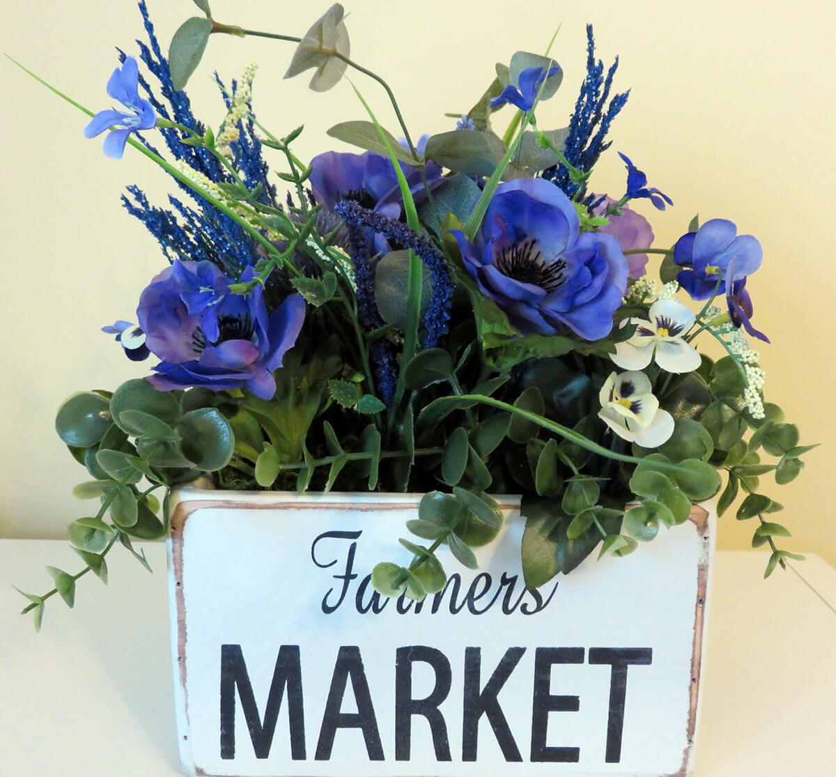 A Brilliant Bouquet of Farmer's Market Flowers