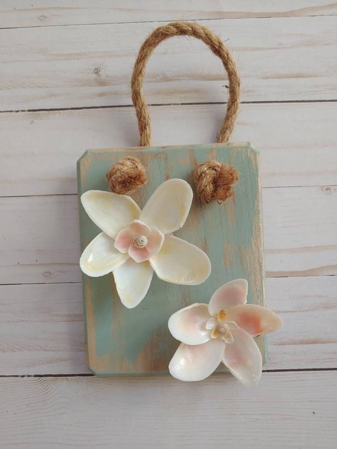 Calm, Cool, and Collected Shell Flower Decoration