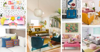 Best Colorful Living Room Decorations