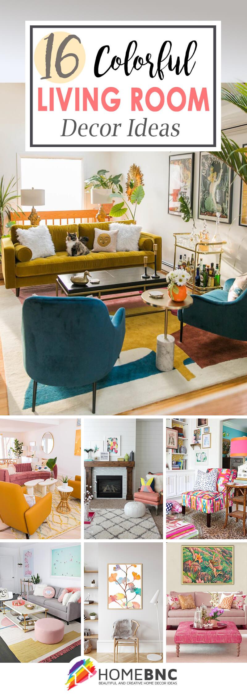 Best Colorful Living Room Design Ideas