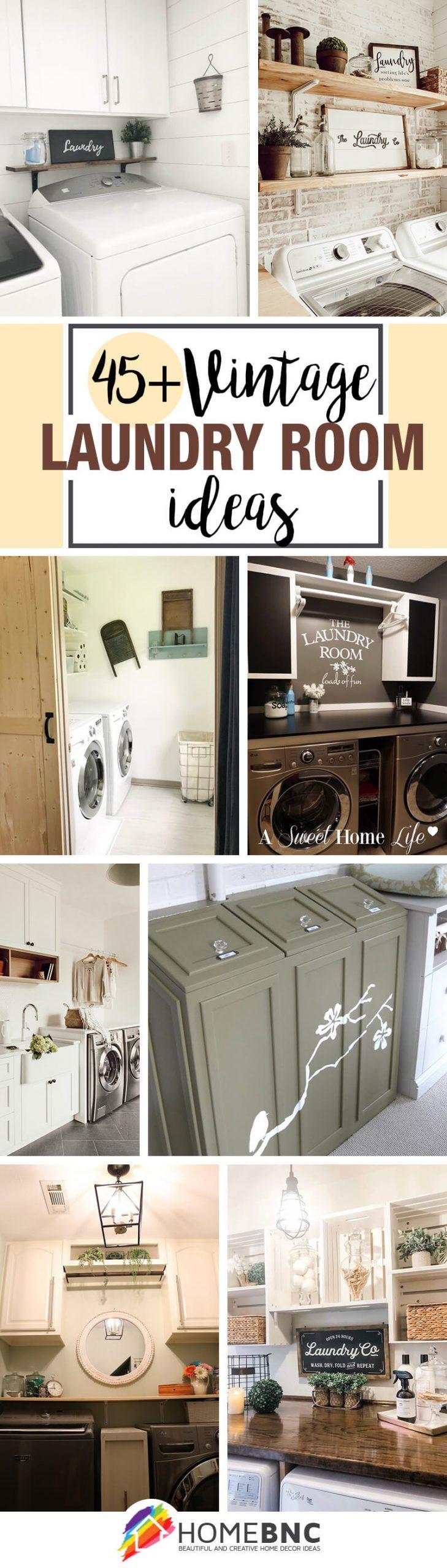 Vintage Laundry Room Ideas