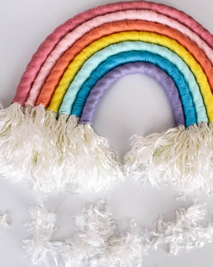 Rainbow Colors for DIY Nursery Decor