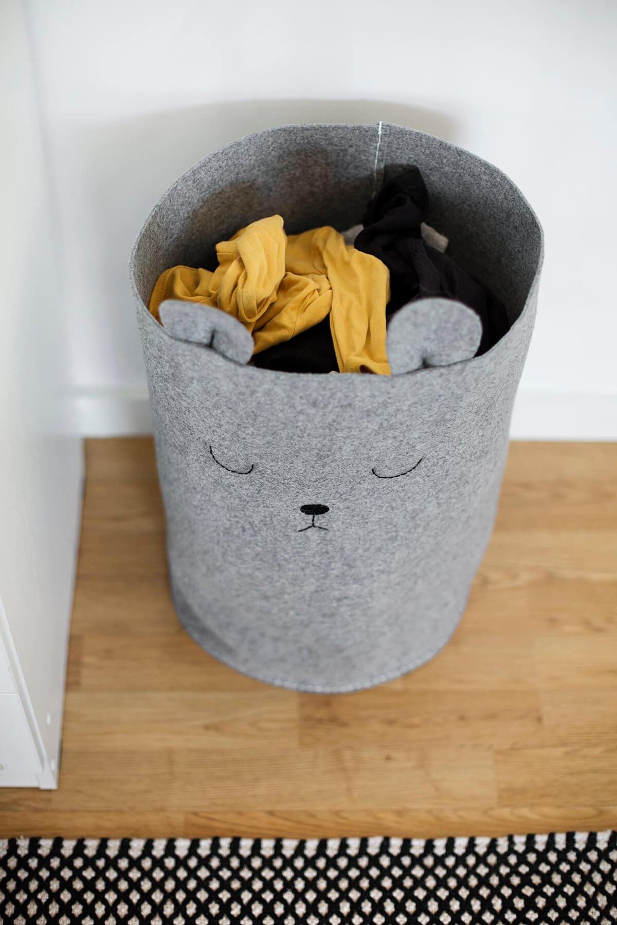 DIY Fabric or Laundry Storage Box
