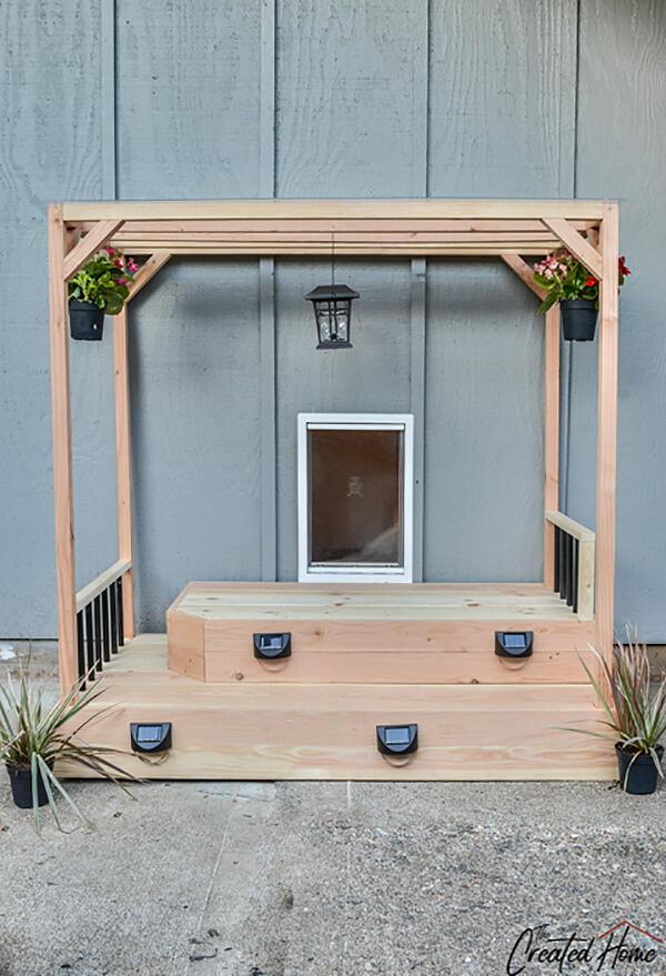 DIY Wooden Stand for Outdoor Display