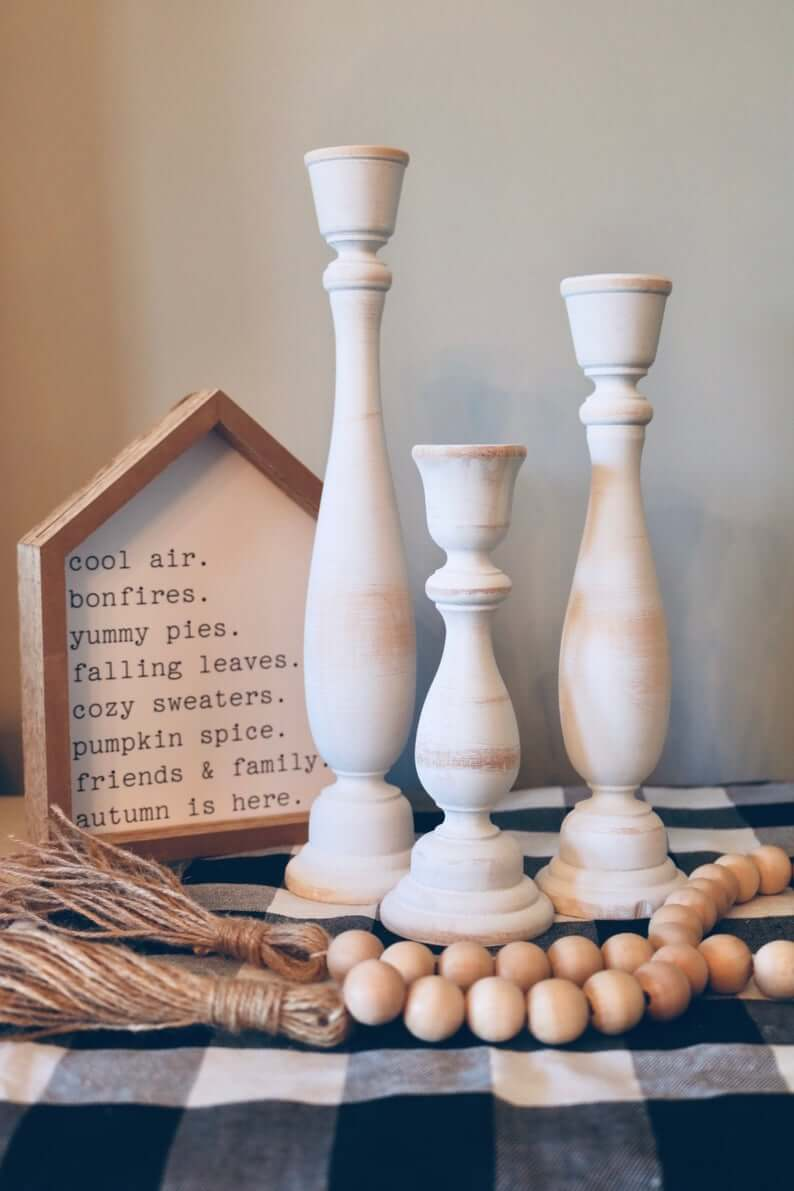 Beautiful Country Candlestick Holder Décor