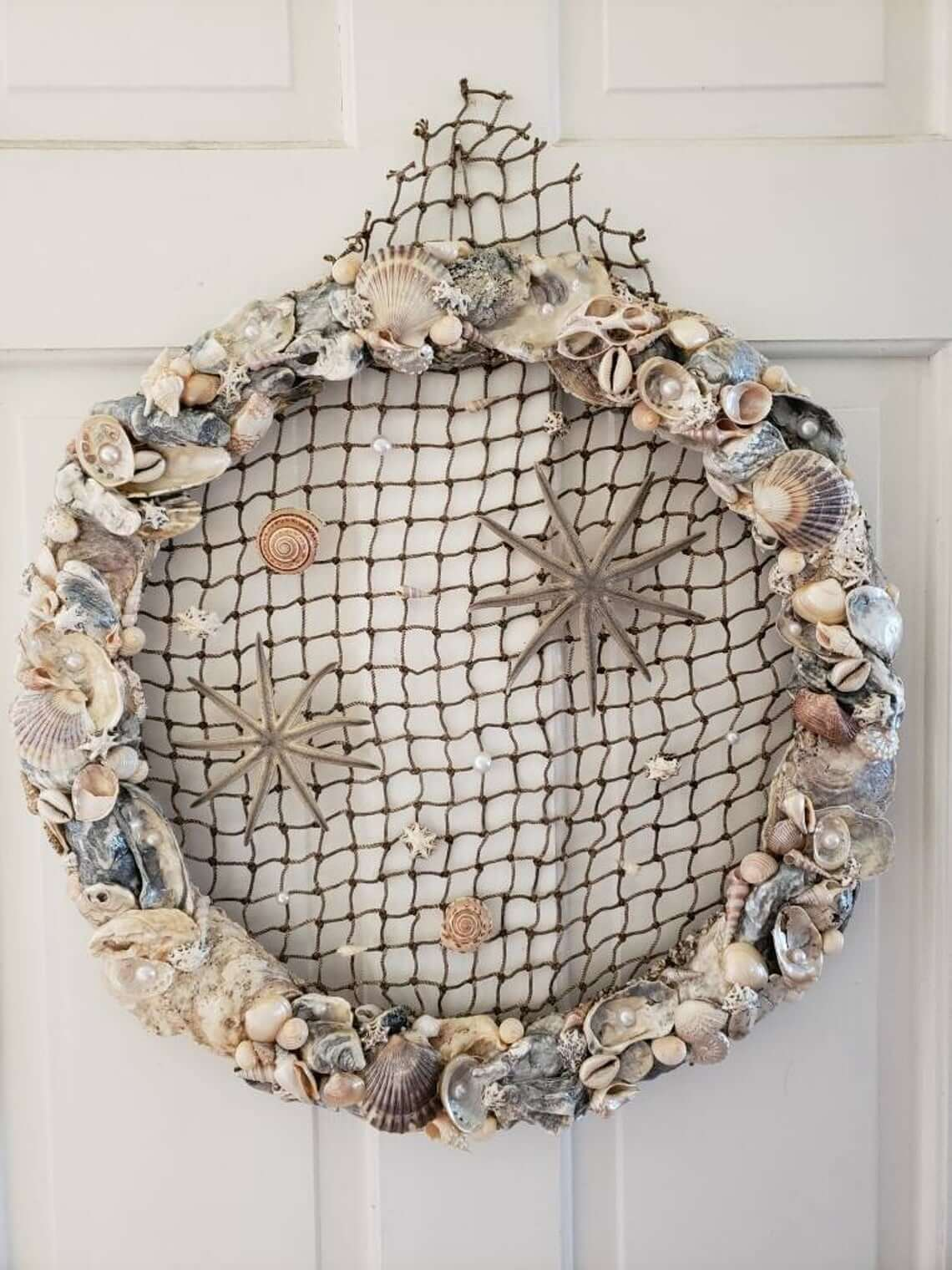 Nautical Net and Sea Critters DIY Wreath