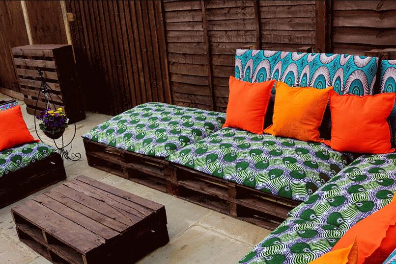 Plenty of Pallets Pretty Outdoor Furniture