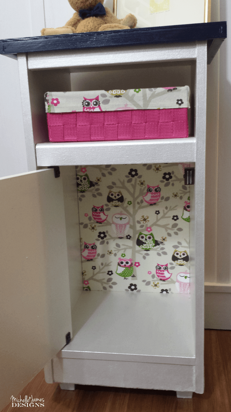 Repurposed Cabinet for Toy Storage