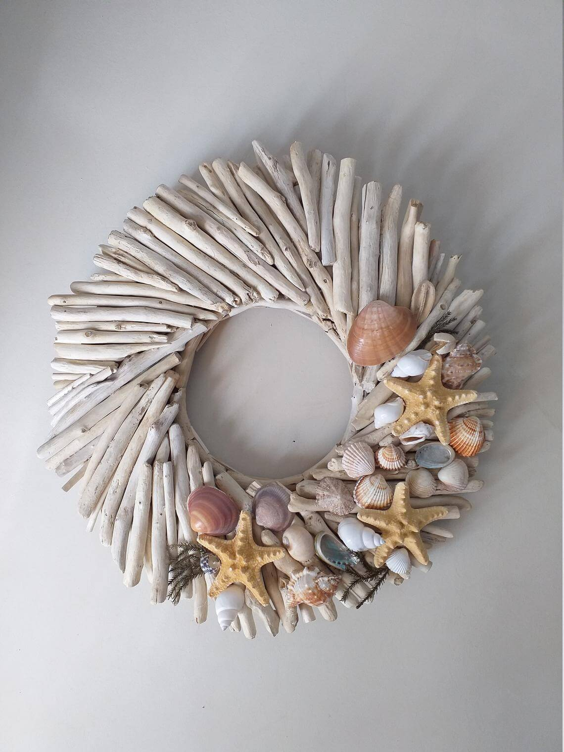 Driftwood and Star of the Sea Wreath