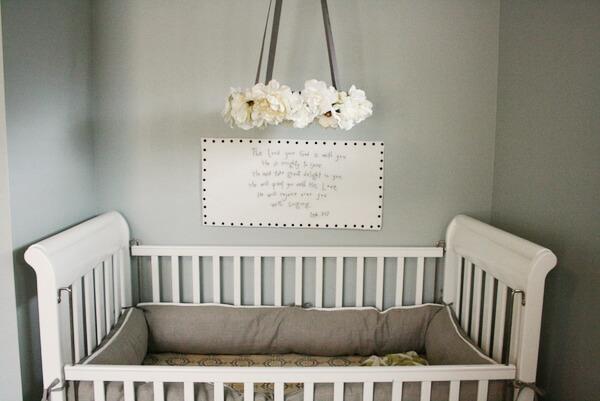 Handmade Rustic Baby Room Decor