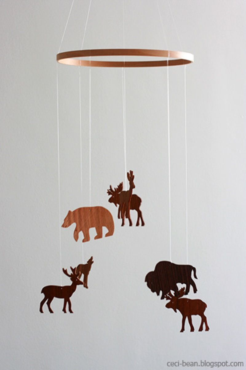Natural Woodland Mobile with the Great Outdoors