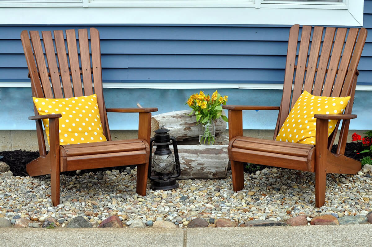 A Pair of Adirondack Chairs