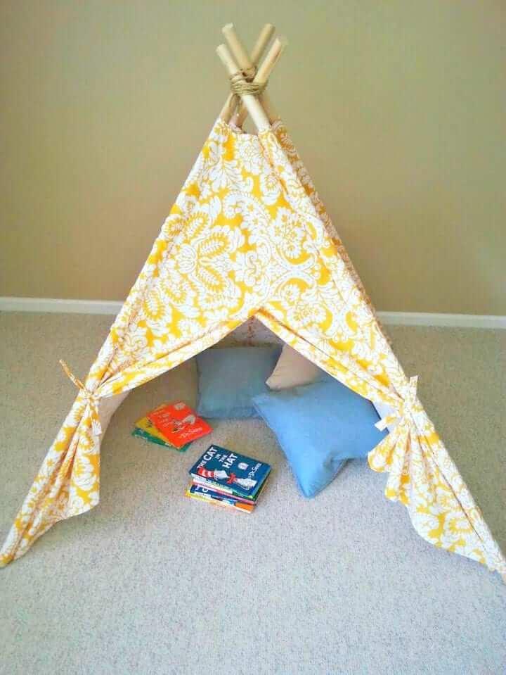 Creatively Unique Children's Teepee Tent