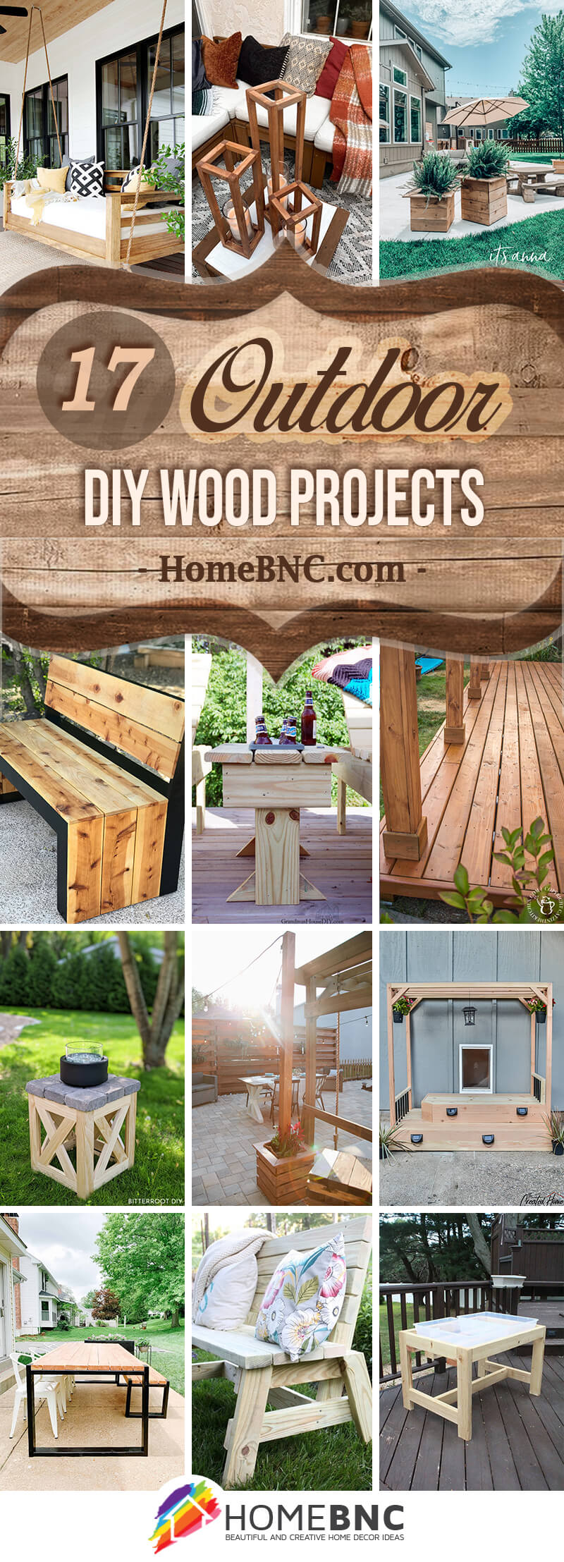 Best DIY Outdoor Wood Projects