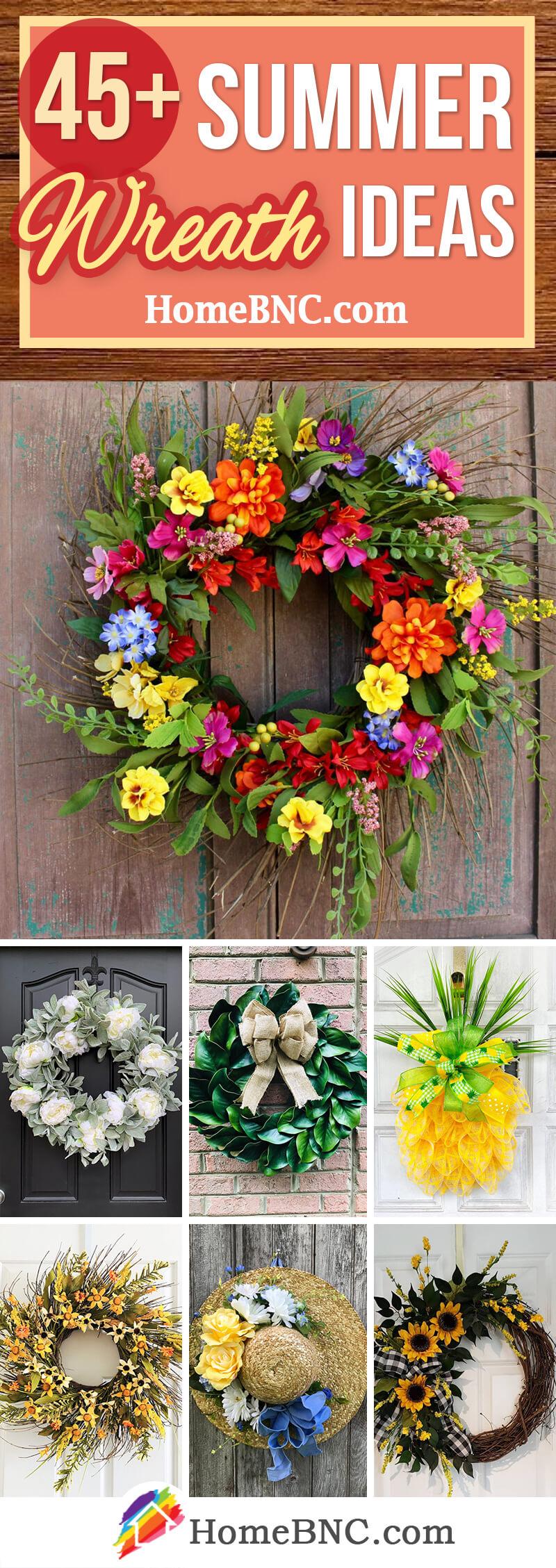 Summer Wreath Designs