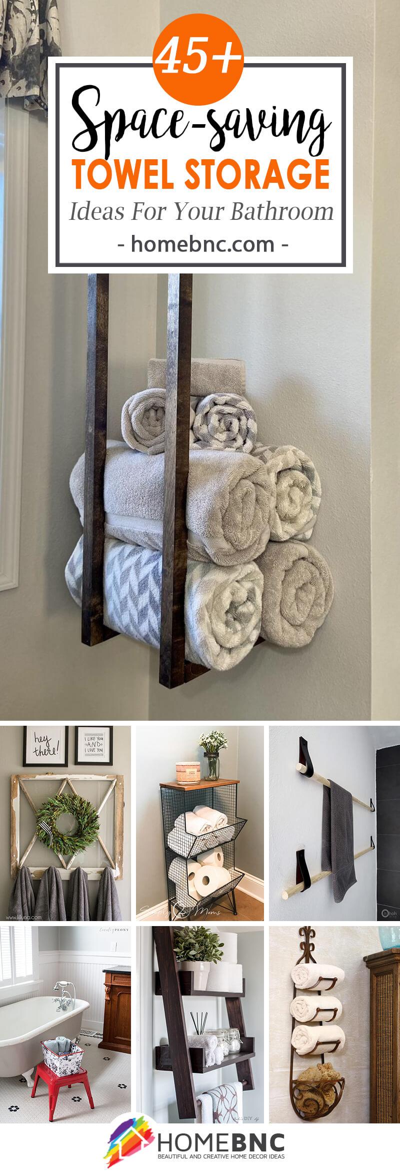 45 Best Towel Storage Ideas And, Bathroom Towel Designs