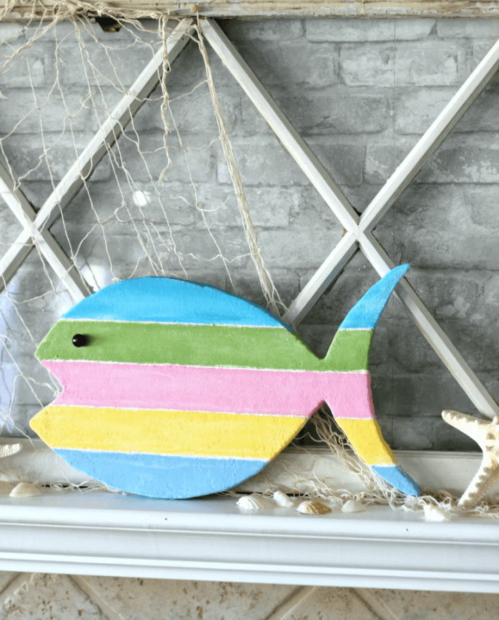 Colorful and Fun Fish Summer Sign
