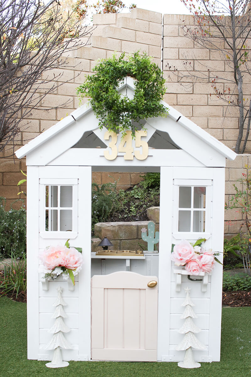 Budget-Friendly DIY Playhouse Makeover Project
