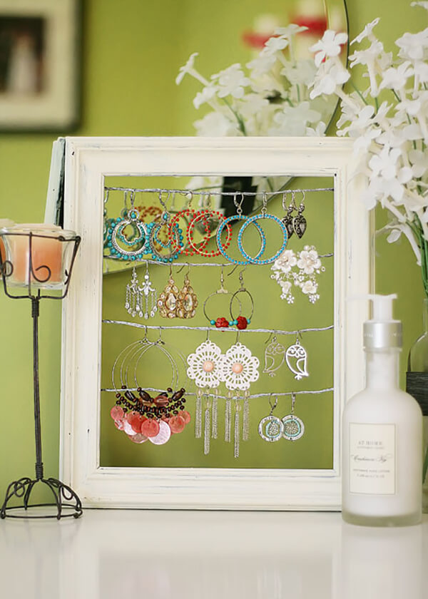 Framed Display for Your Precious Jewelry