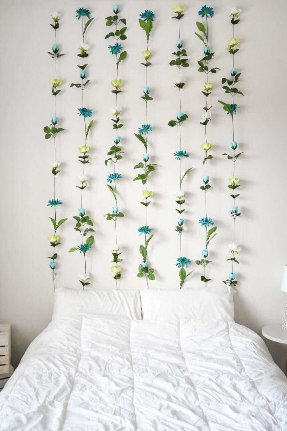 Green Queen DIY Flower Wall