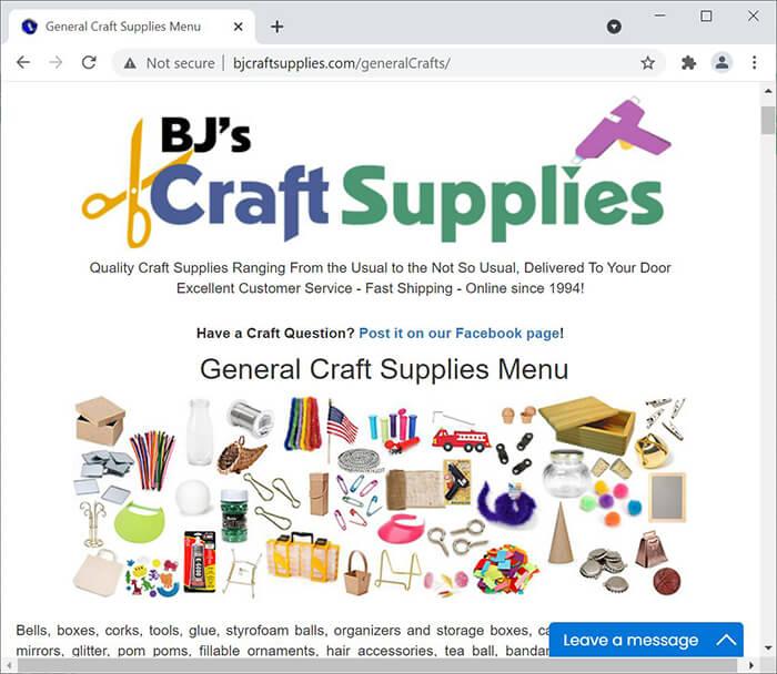 BJ's Craft Supplies