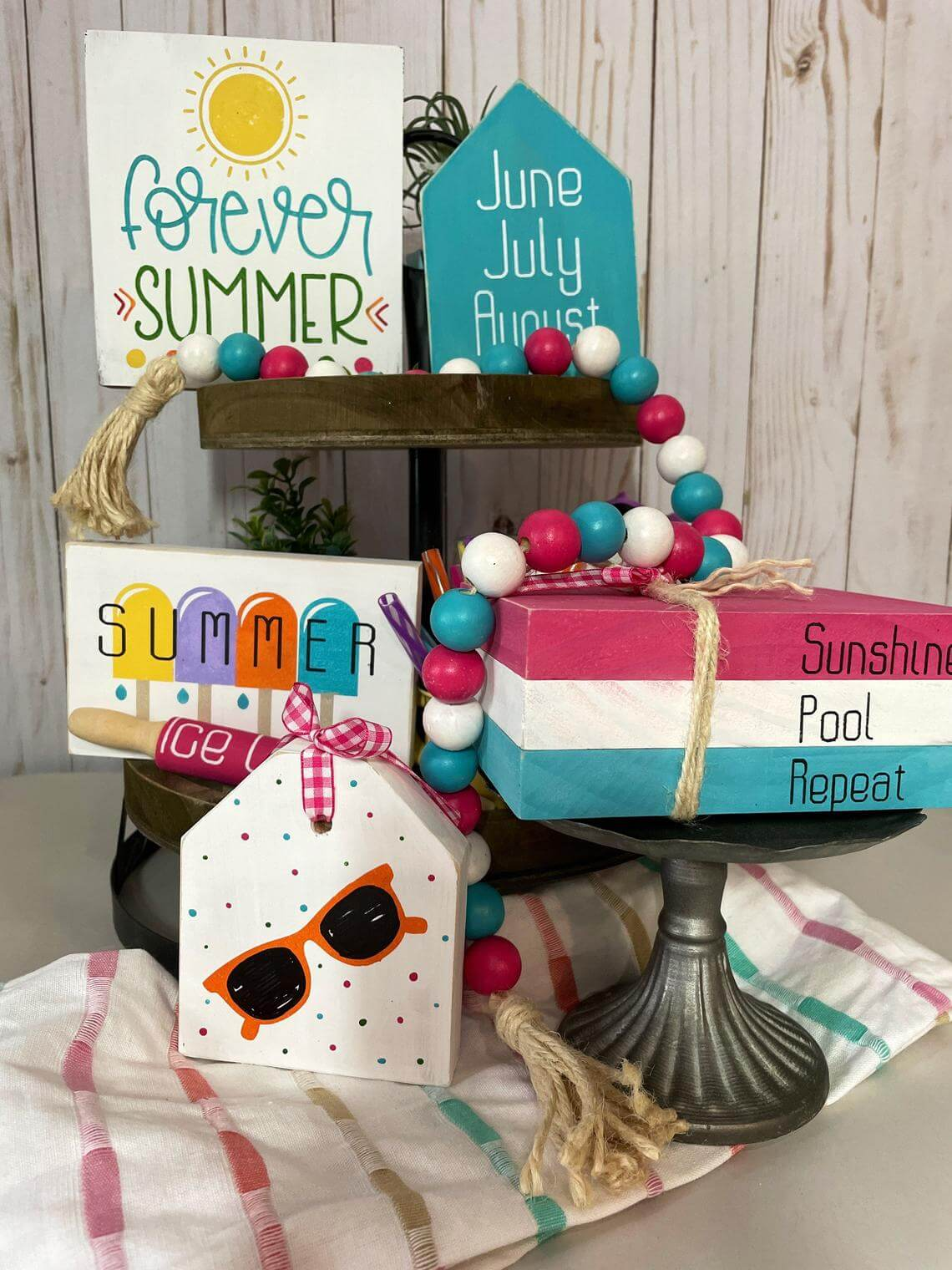 Forever Summer Tiered Tray Bundle