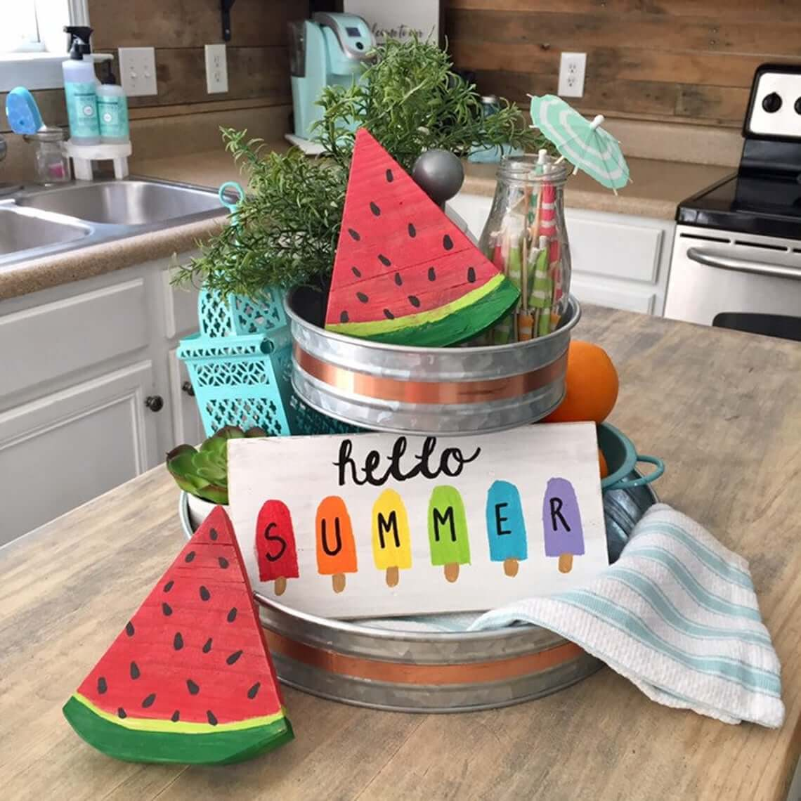 Summer Tiered Tray Sign Bundle