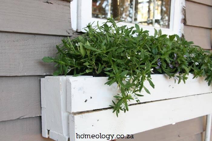 Wonderful Window Box Pallet Planter