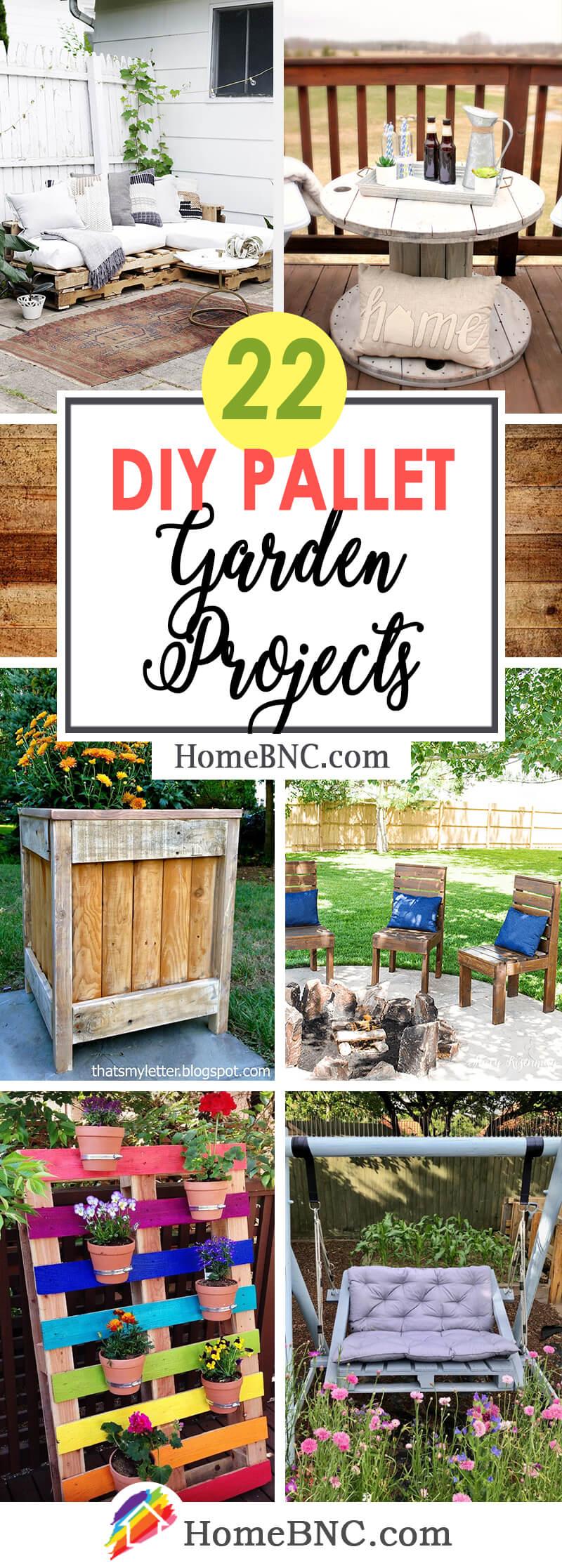 Best DIY Pallet Garden Ideas